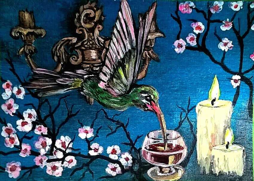 Iryna Atamanenko. Cognac für den Humming-bird - Foto 1