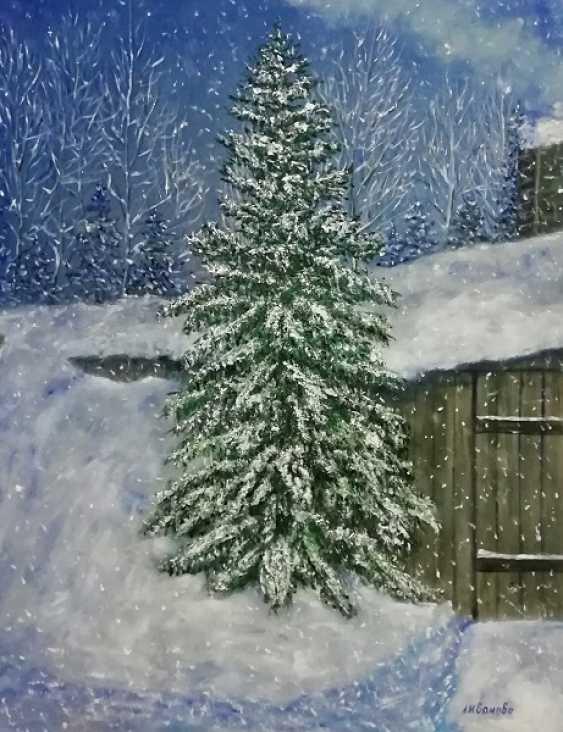 Lidiya Ivanova. The snow falls - photo 1