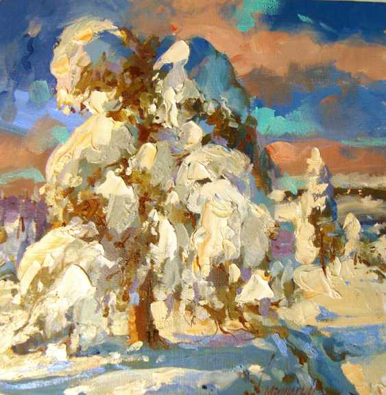 Andrey Mishagin. L'hiver etude (2) - photo 1
