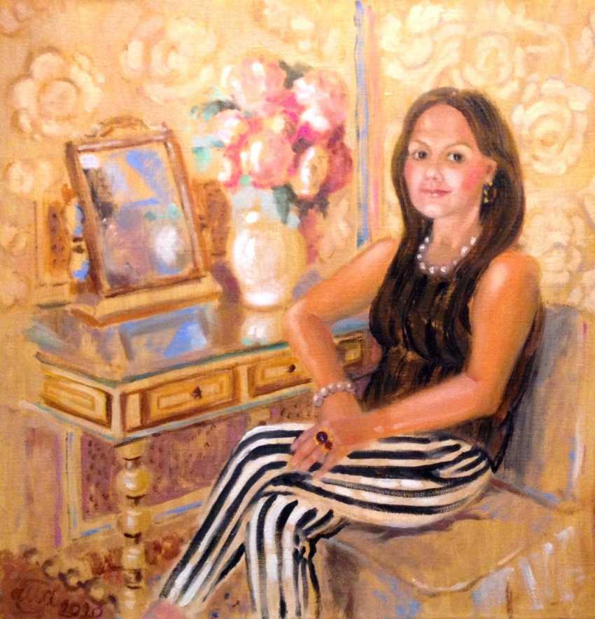 Alla Senatorova. Self portrait - photo 1