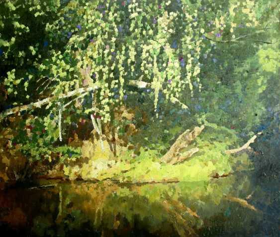 Mikhail Rudnik. Forest river - photo 1