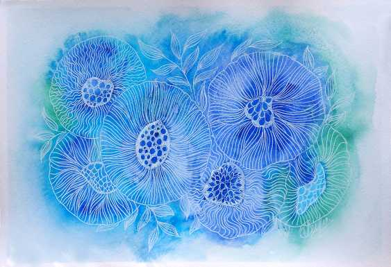 Oksana Borovik. Magic flowers 4 - photo 1