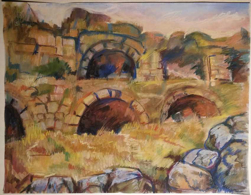 Олена Баликова. Руины старого города - фото 1