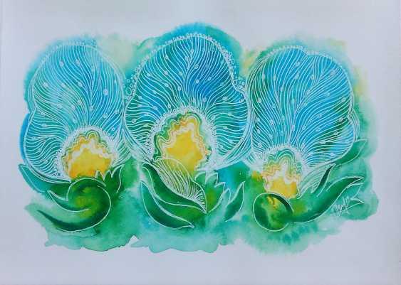 Oksana Borovik. Magical flowers 9 - photo 1