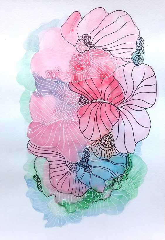 Oksana Borovik. Magic flowers 10 - photo 1
