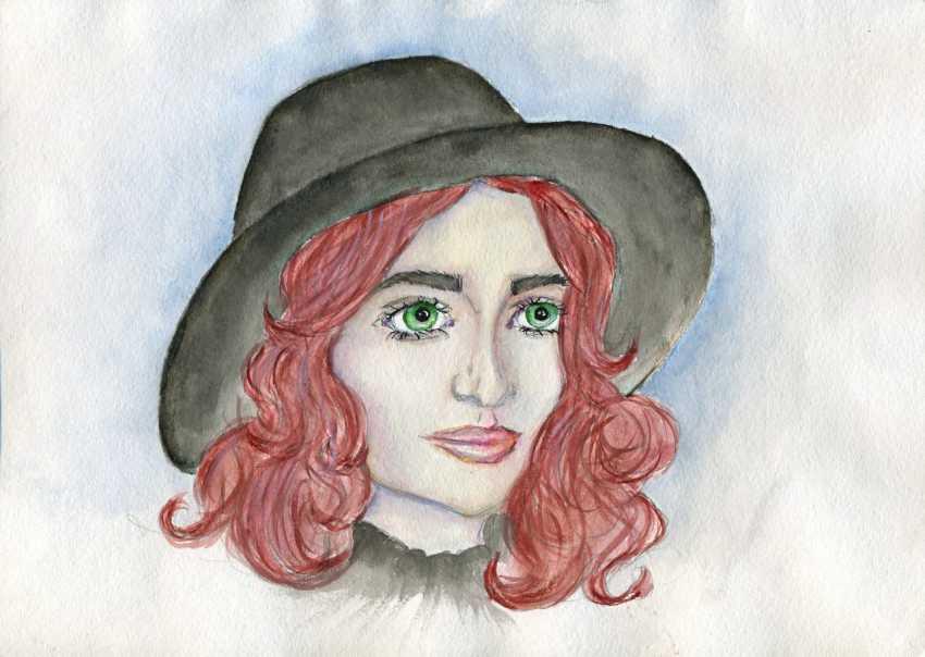 Anastasiya Tonkikh. The girl in the hat. - photo 1