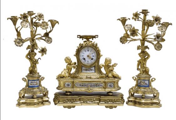 Fireplace set France of the NINETEENTH century - photo 1