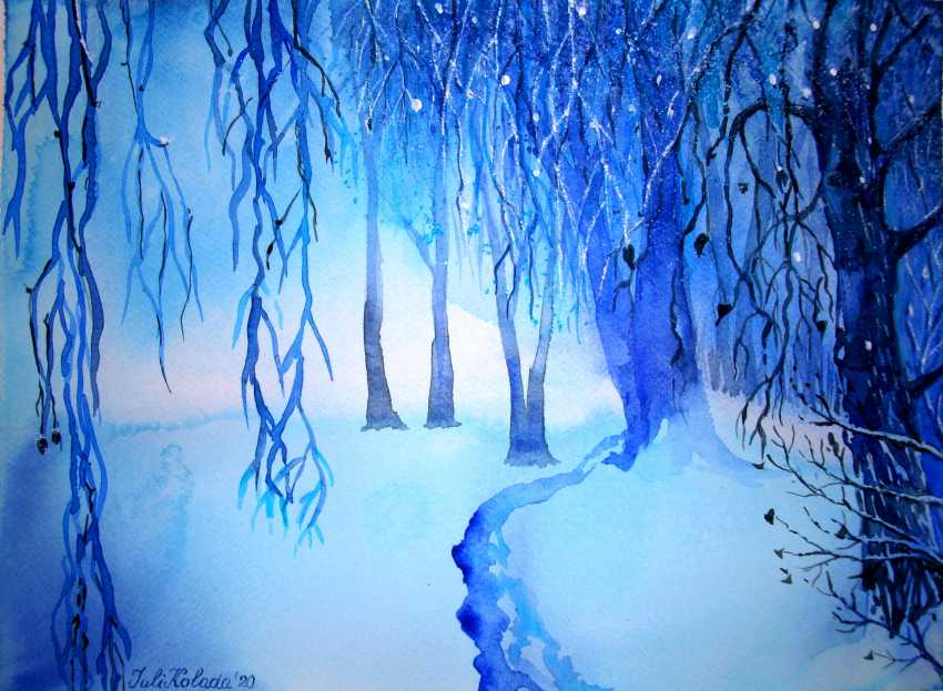Julia Koliada. Winter forest - photo 1