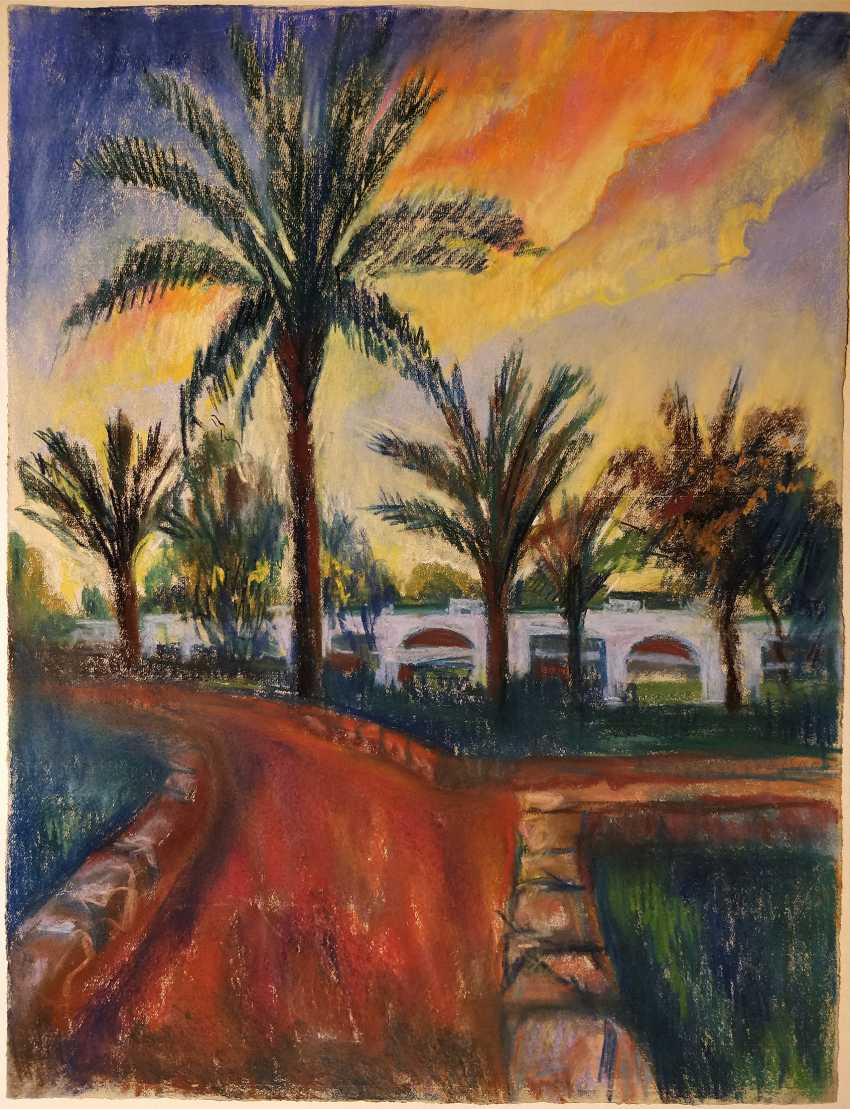 Olena Balykova. Egyption landscape .Evening. - photo 1