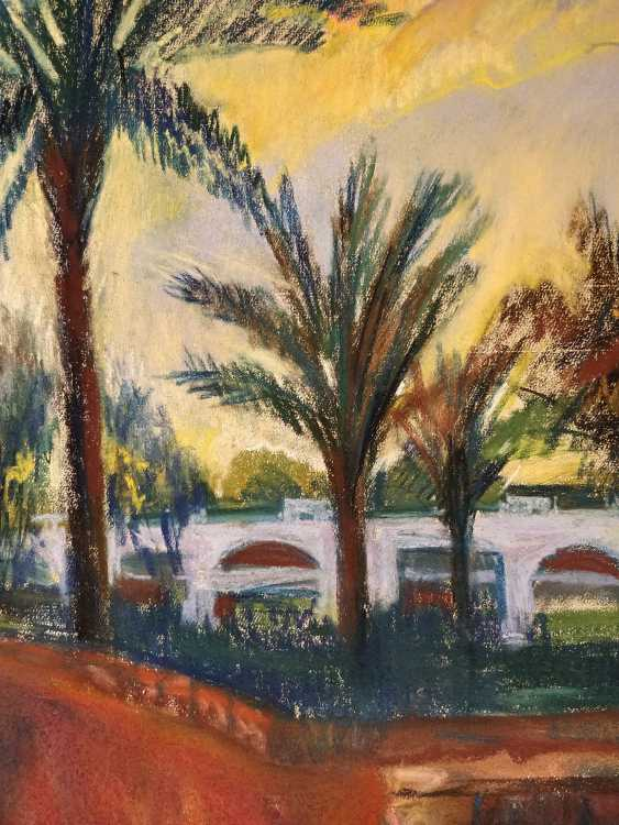 Olena Balykova. Egyption landscape .Evening. - photo 2
