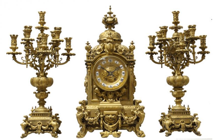Bronze Palace set of the NINETEENTH century - photo 1