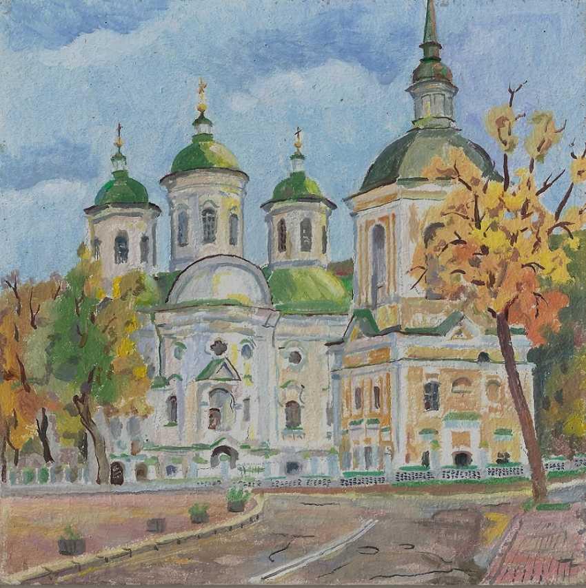 Oleg Lytvynenko. Church of the intercession. - photo 1