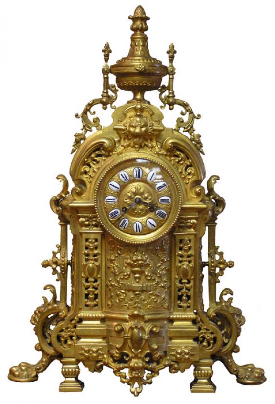 Mantel clock France, NINETEENTH century - photo 1