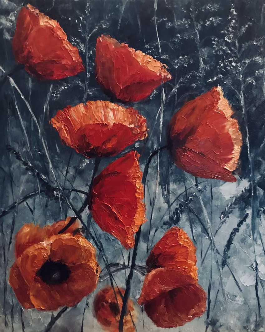 """Viktoriia Viktoriia. """"Twilight poppies"""" - photo 1"""