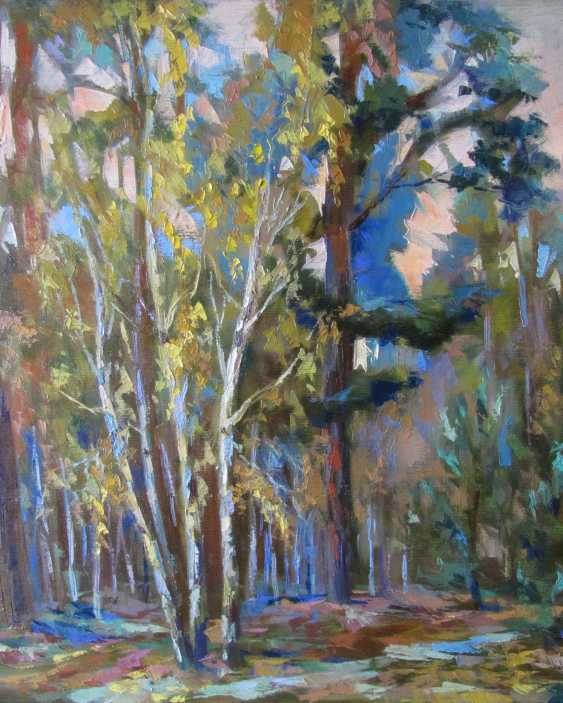 Yulia Bird. Walk in the autumn forest. - photo 2