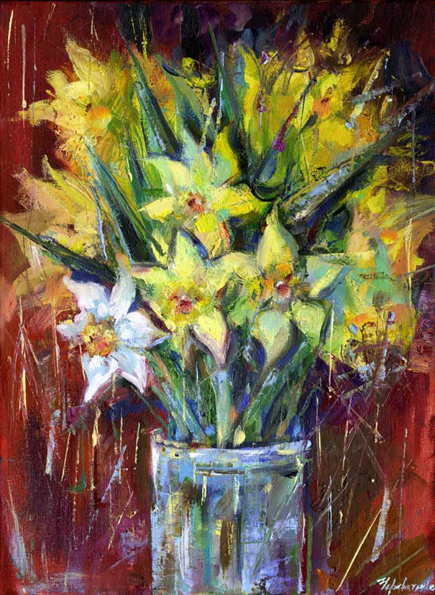Elena Cherevatenko. Daffodils. Spring - photo 1