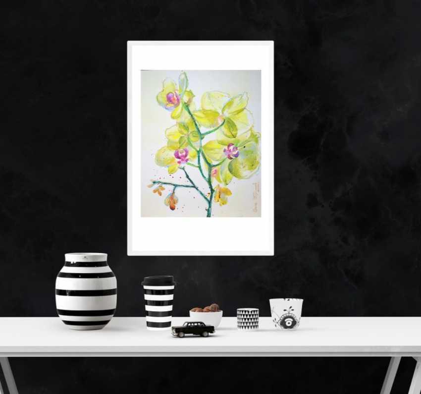 "Olga Kiryakova. ""Lemon Orchid"" - photo 2"