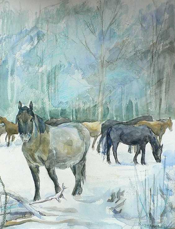 """Olga Kiryakova. """"Winter"""" - photo 1"""