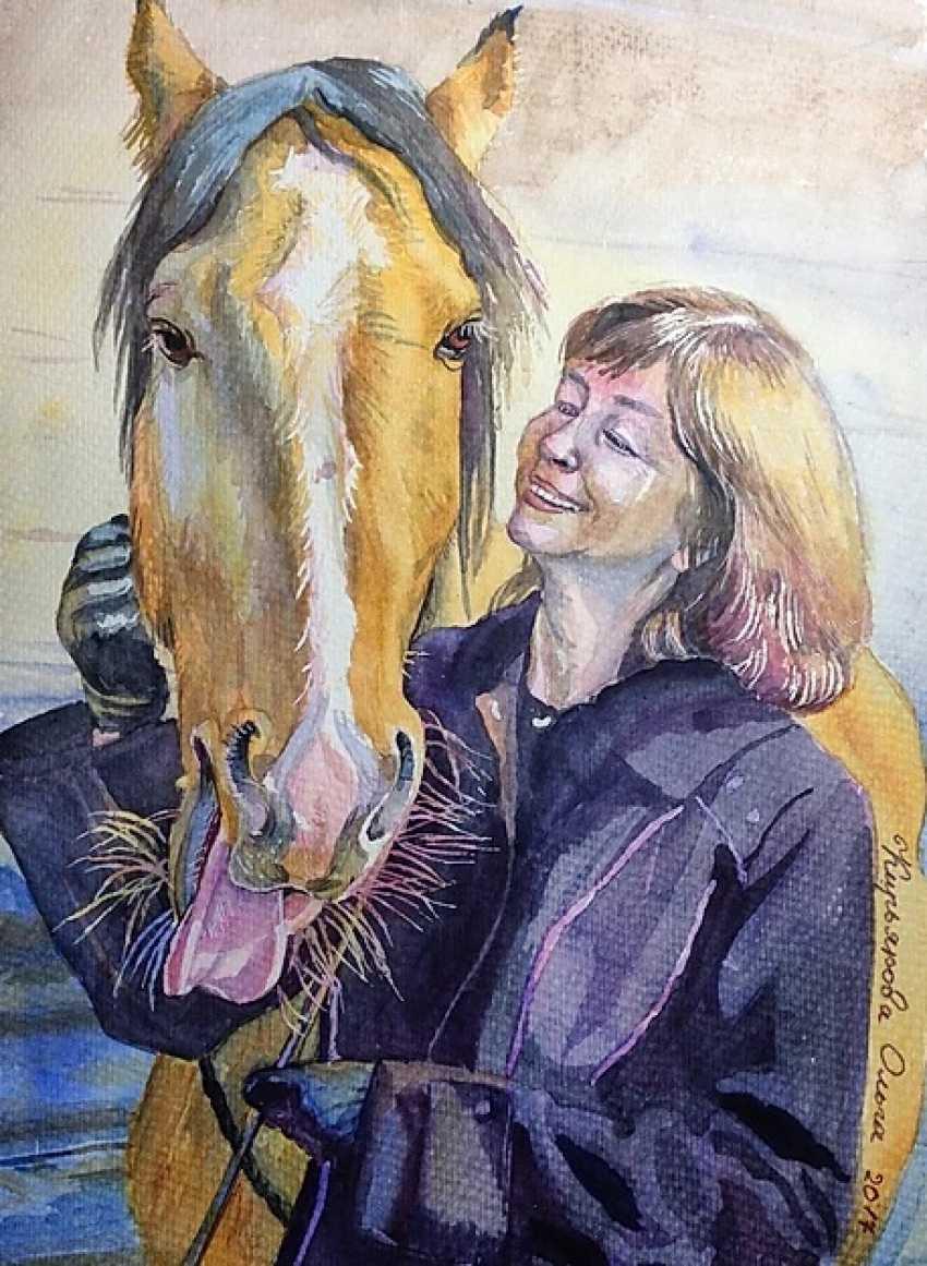 """Olga Kiryakova. """"A real horse"""" - photo 1"""