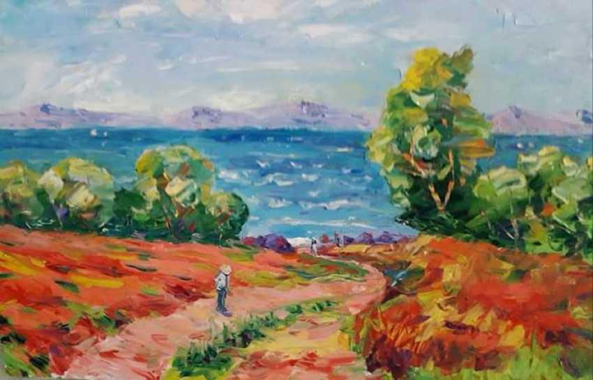 Rafael Javakhyan. From the shores of lake Sevan - photo 1