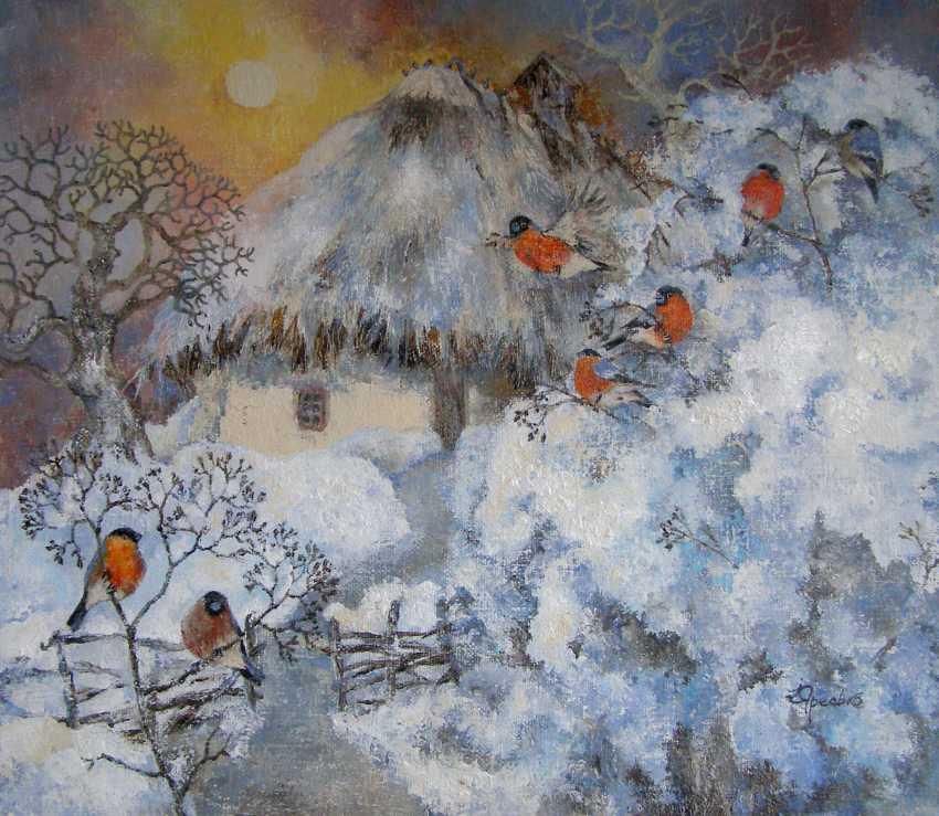 Irina Yaresko. Flowers of winter - photo 1