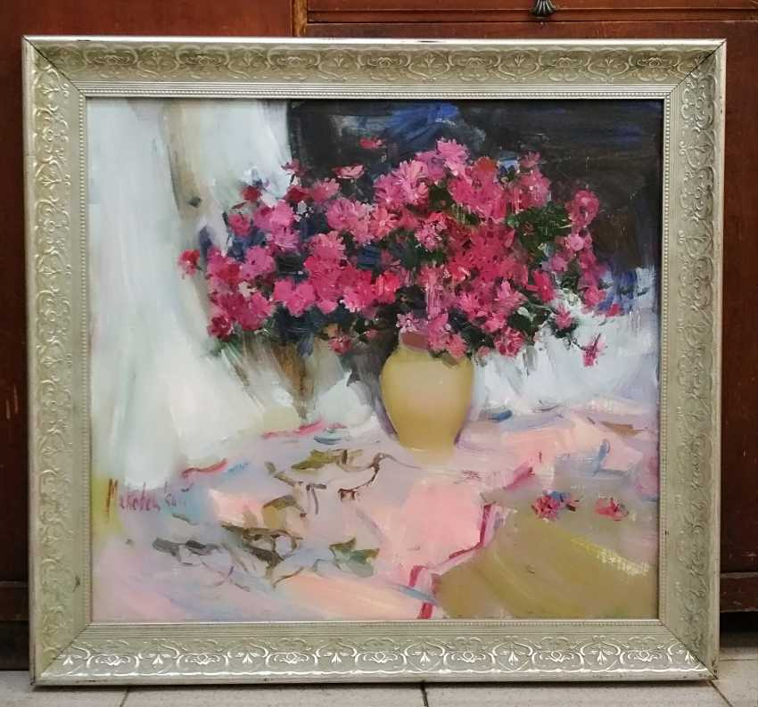 Olga Samchuk. Pink flowers - photo 1