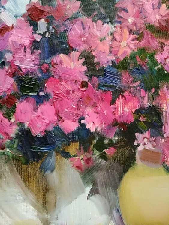 Olga Samchuk. Pink flowers - photo 2
