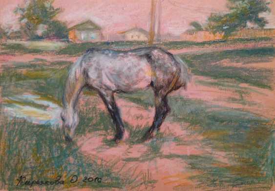"""Olga Kiryakova. """"Le cheval"""" - photo 1"""