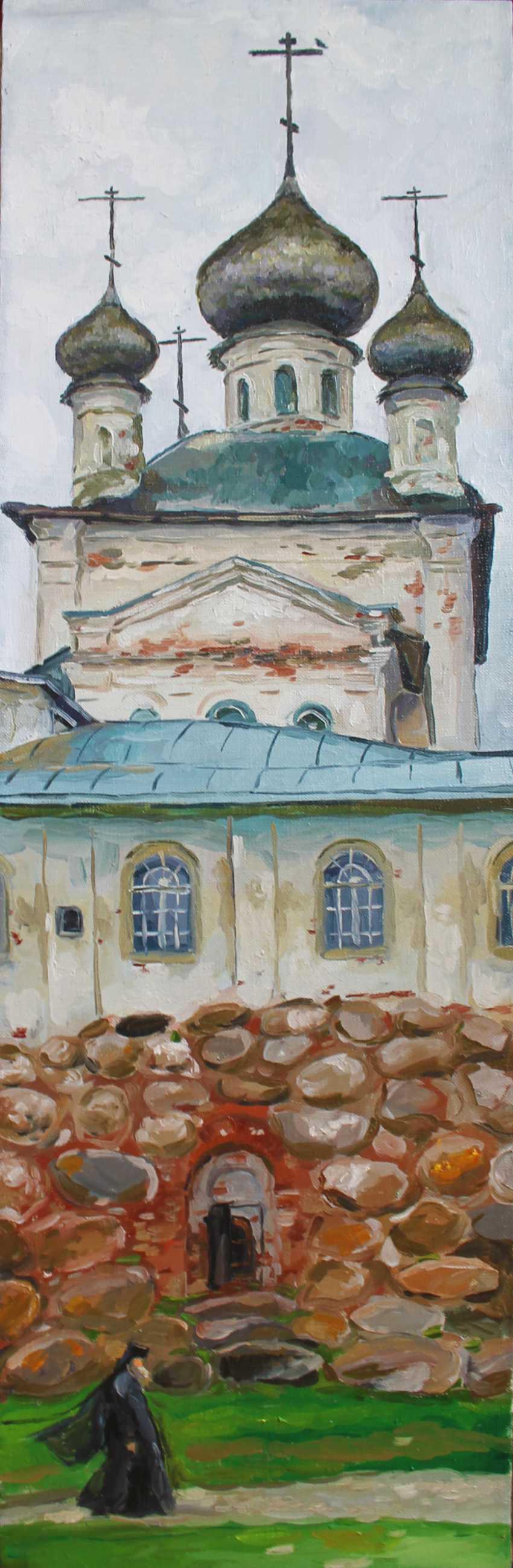 Natalia Myrauyova. The Church of St. Nicholas - photo 1