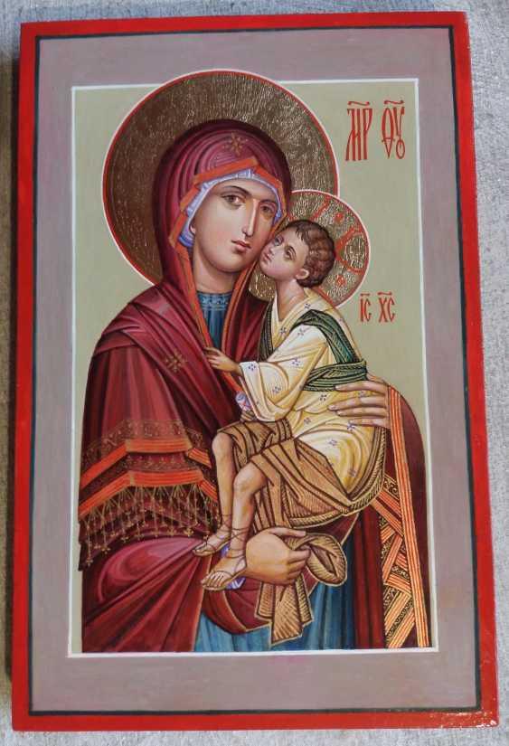Slava Nikityuk. Mother of God Tenderness mother of God of Tenderness icon of the written - photo 2
