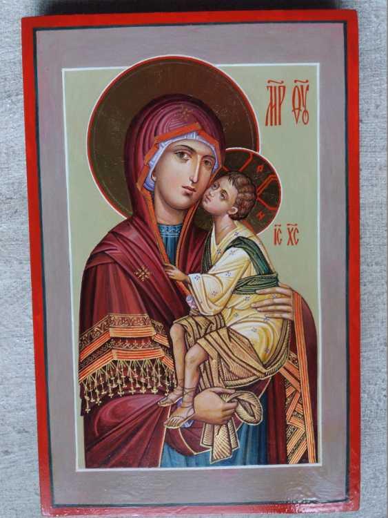 Slava Nikityuk. Mother of God Tenderness mother of God of Tenderness icon of the written - photo 3
