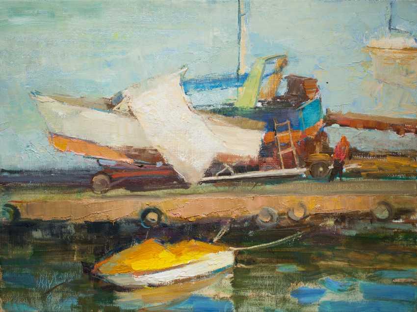 Oksana Shulga. Sketch of boats - photo 1
