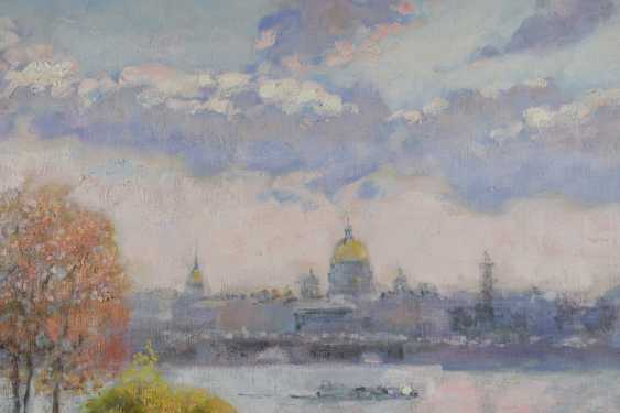 Natalya Savenkova. Saint Petersburg view of hare island autumn - photo 2