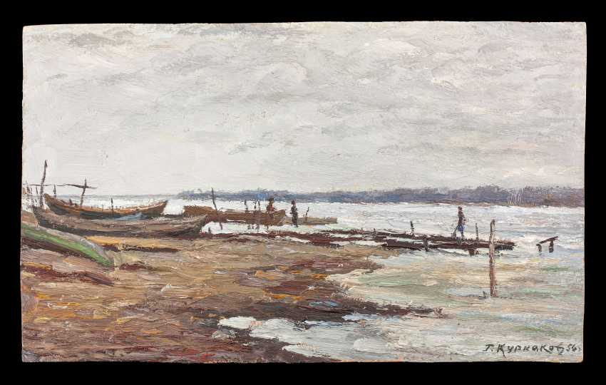 Winter on the river 1956 - photo 1