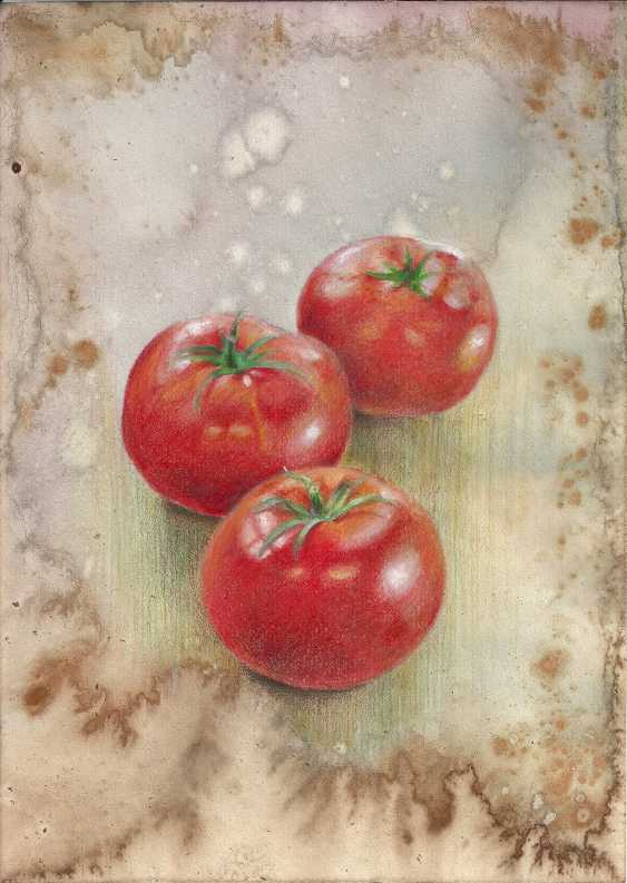 Natasha Mishareva. Tomatoes. 2020. Handmade. The Author - Natalia Pisareva - photo 1