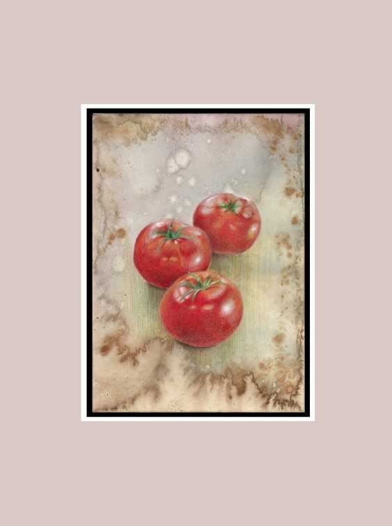 Natasha Mishareva. Tomatoes. 2020. Handmade. The Author - Natalia Pisareva - photo 2