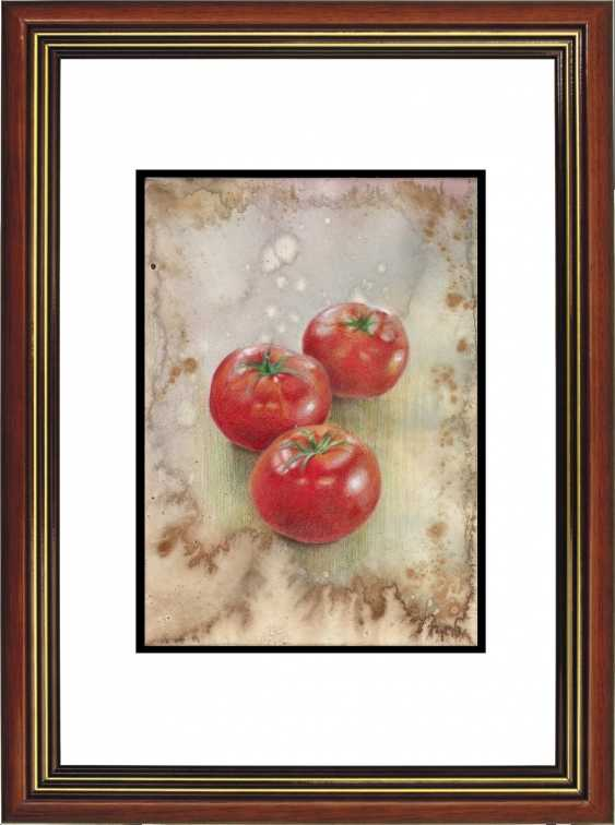 Natasha Mishareva. Tomatoes. 2020. Handmade. The Author - Natalia Pisareva - photo 3