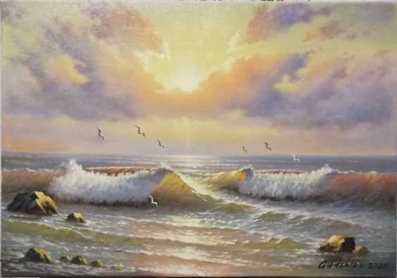 Ali Gadzhiev. Sunset - photo 1