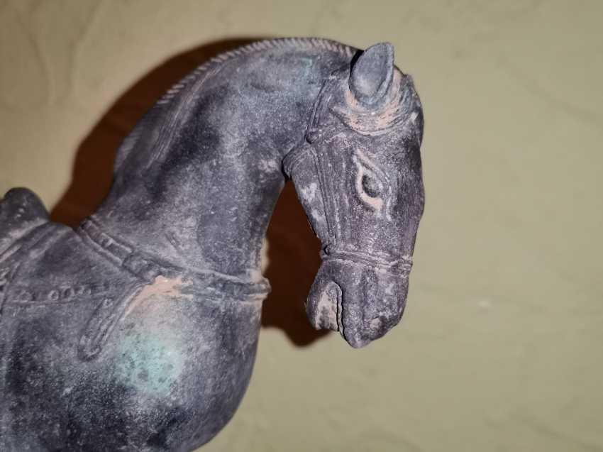 Antique bronze Tang horse. China - photo 3