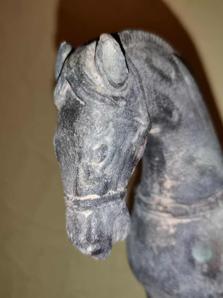 Antique bronze Tang horse. China - photo 5