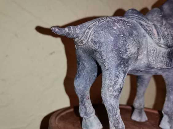Antique bronze Tang horse. China - photo 12