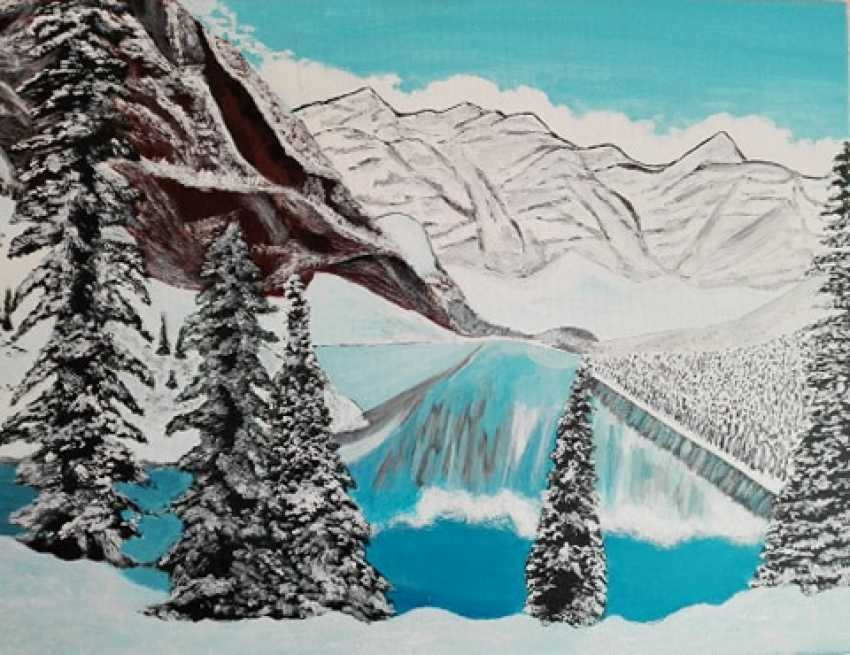 "Liliia Bomko. ""Winter in the mountains"" - photo 1"