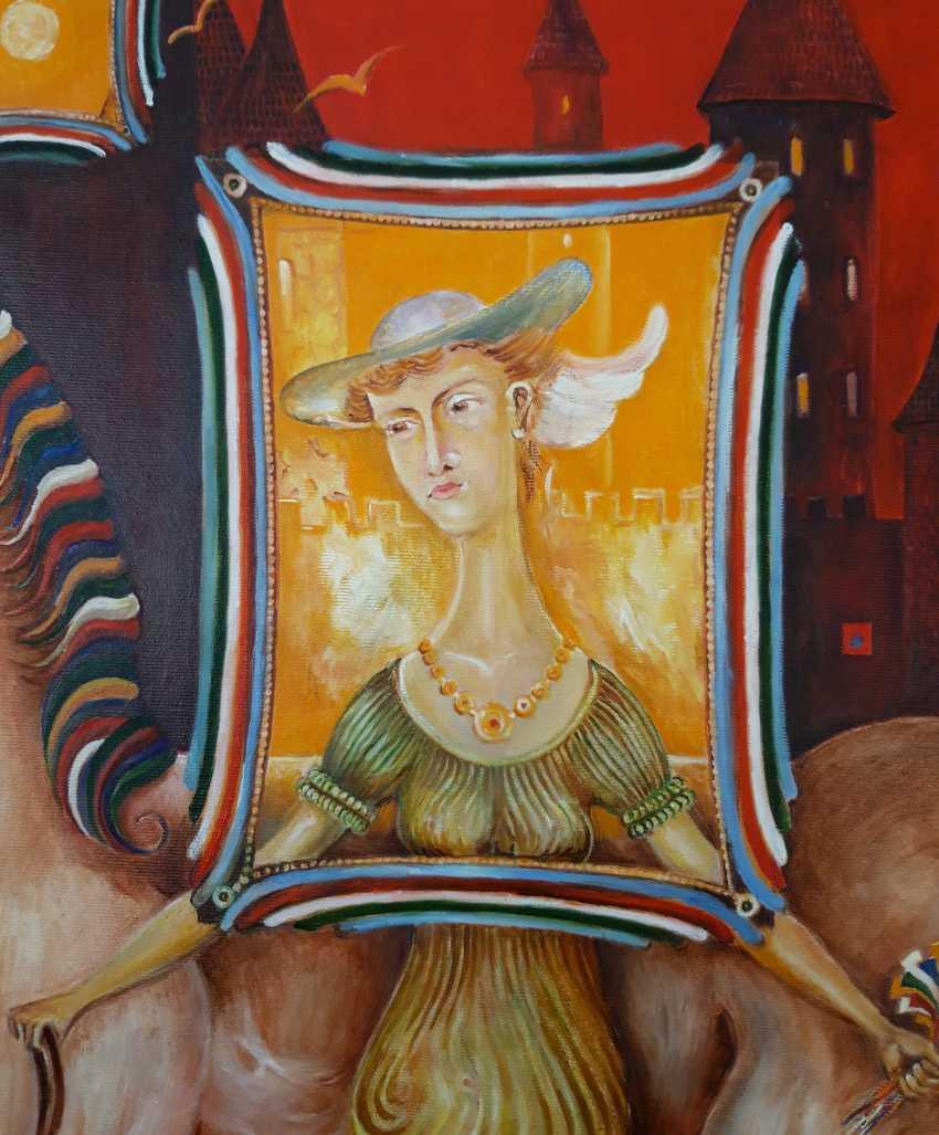 Serhii Kulyk. Portrait of woman with horse - photo 2