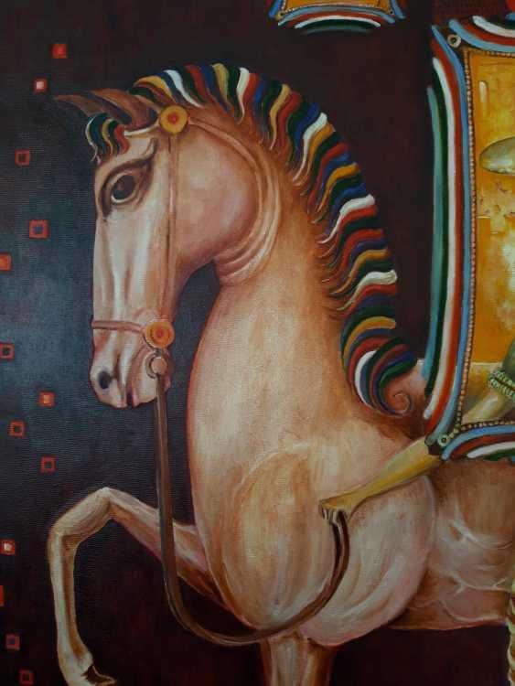 Serhii Kulyk. Portrait of woman with horse - photo 3