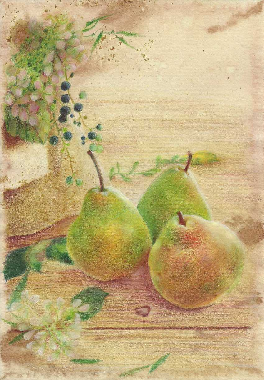 Natasha Mishareva. Pear orchard. 2020. Handmade. The Author - Natalia Pisareva - photo 1