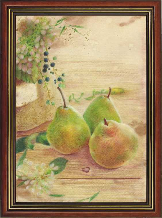 Natasha Mishareva. Pear orchard. 2020. Handmade. The Author - Natalia Pisareva - photo 2
