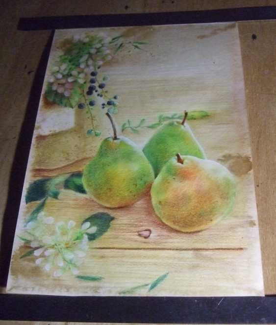 Natasha Mishareva. Pear orchard. 2020. Handmade. The Author - Natalia Pisareva - photo 3