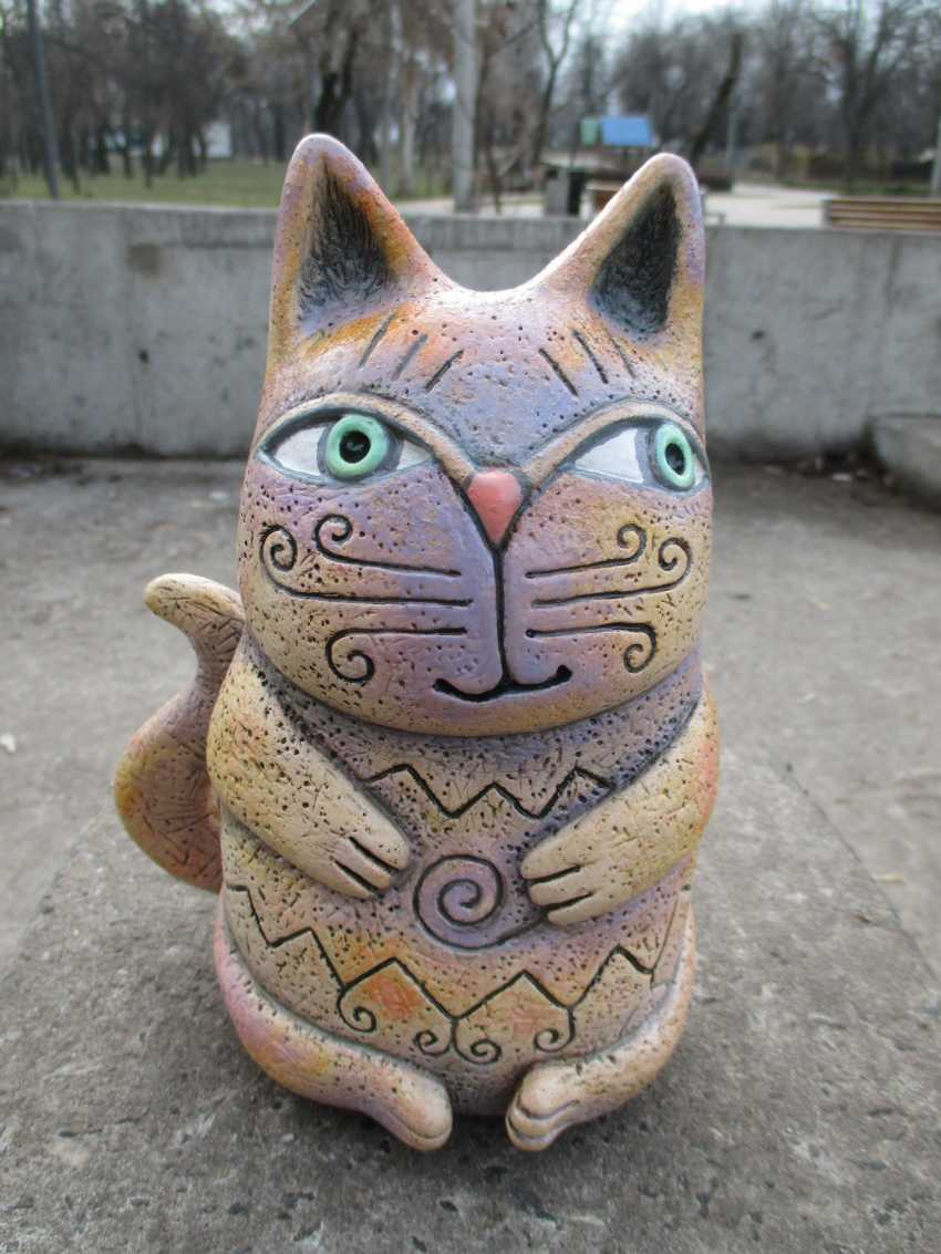 Andrey Lastovsky. Figurine ceramic. Kotofey Kotofeevich . - photo 1