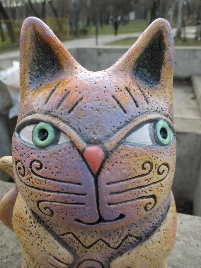 Andrey Lastovsky. Figurine ceramic. Kotofey Kotofeevich . - photo 4