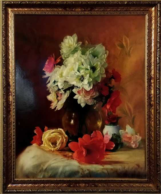 """Valeriy Dzygalo. """"Playing with colors and flowers 004"""" - photo 1"""